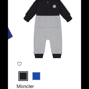 Moncler one piece.
